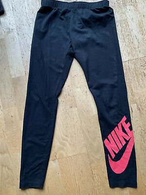 Girls Black Nike Leggings Aged 13-15 Years