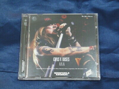 Guns N' Roses AXA 1992 CD 2 Discs Set Music Hard Rock Moonchild Records F/S