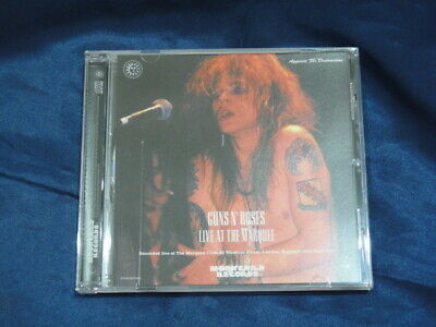 Guns N' Roses Live At The Marquee CD 1 Disc Music Hard Rock Moonchild Records