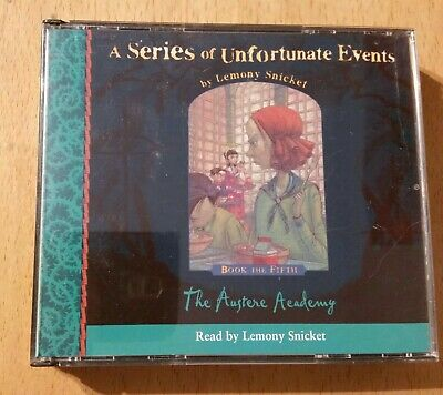 The Austere Academy by Lemony Snicket (3x CD audiobook)