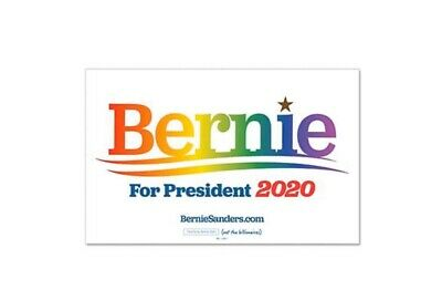 Bernie Sanders For President 2020 Political Campaign Pride Rally Sign