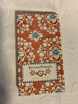 Susan Branch Sticky Notes Book Pieces Memo Pad Page Flags Opened But Looks NEW