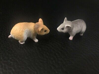 Japan Hamster Hamsters PVC Mini Figurine Action Figure set with joint pair