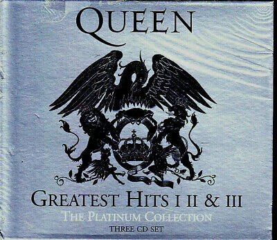 3 CD Box - QUEEN The Platinum Collection - NEU -Greatest Hits I, II & III - 2011