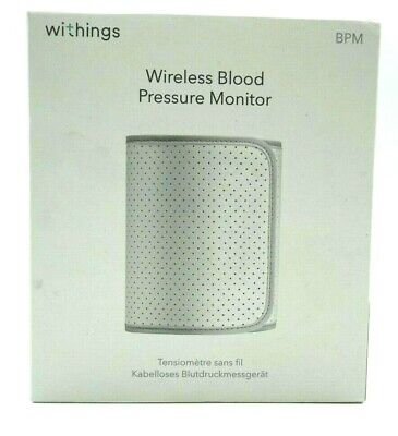 Withings Wireless Blood Pressure Monitor for Apple and Android BP-801