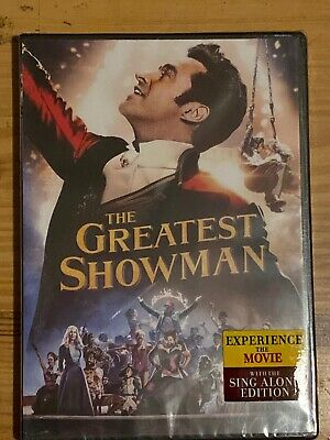 The Greatest Showman (DVD, 2018) Brand New & Sealed IN BOX Free Shipping!