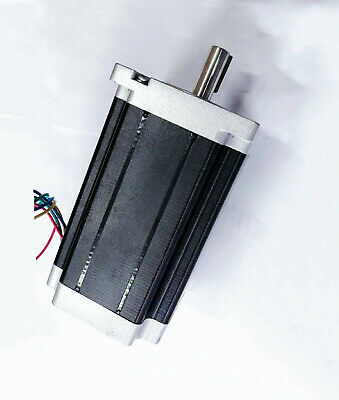 1PC Nema34 Stepper Motor 1700oz-in 6A Key way shaft 34HS5460D12.7L34J5-1 CNC KIT