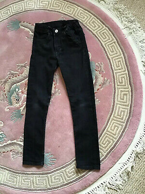 Boys School Stretch Jeans Denim Skinny Pants Chino Trousers Age 9-10 Years