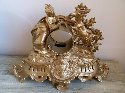antique french clock case