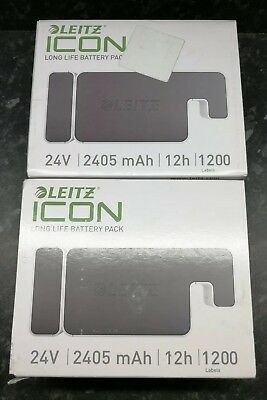 Leitz 70020000 Icon Long Life Battery Pack 24v 2405 mAh 12h For Label Printers