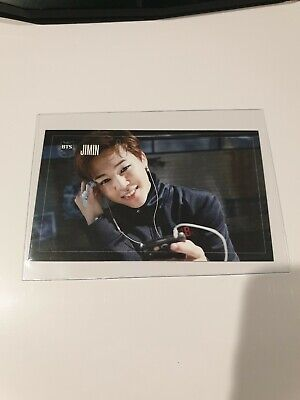 BTS Jimin Dark And Wild Official Photocard