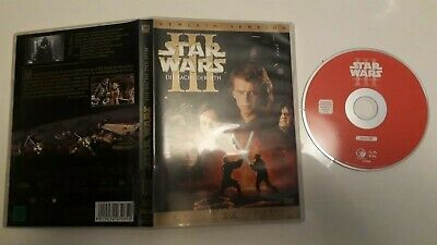 DVD Star Wars: Episode III - Die Rache der Sith GEORGE LUCAS Verleihversion KULT