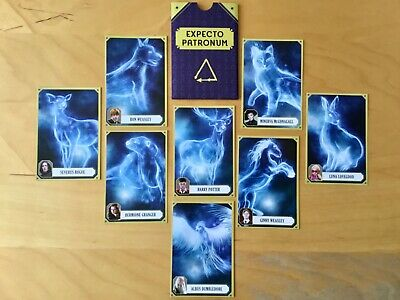 Cartes collector HARRY POTTER : Expecto Patronum (J.K.Rowling)