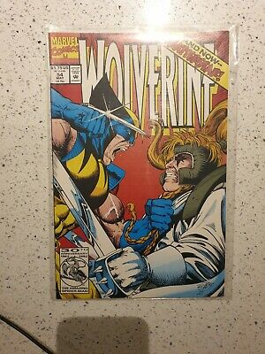 Marvel Comics Issue #54 Wolverine and now Shatterstar! MINT CONDITION