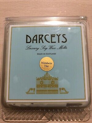 DARCEYS 100/% soy wax scented wax candle melts pack of 8 READY FOR POSTING !
