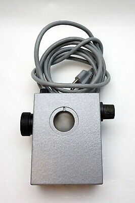 Ernst Leitz 307-127.002 microscope lamp GMBH WETZLAR made in germany