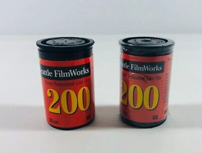 2 New 35mm Film Seattle Film Works 35mm 200 New