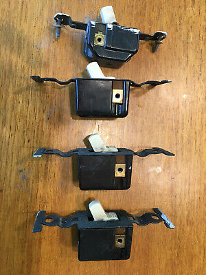 Vintage Bakelite Electric Wall Switches Lot of 4 Antique AS-IS Working