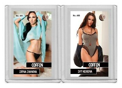 Iryna Ivanova rare MH Coffin #'d 3/3 Tobacco card no. 461