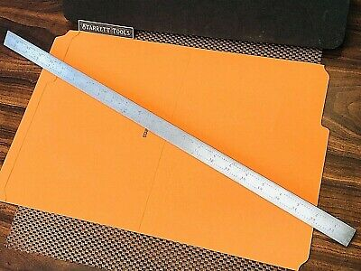 "STARRETT No. B24-4R  24"" Blade Only for Combination Squares,Sets and Protractor."