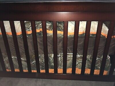 Camo Crib Bumpers and Sham