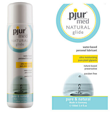 Pjur Med Natural Glide Personal Lubricant Long Lasting Water Based Lube