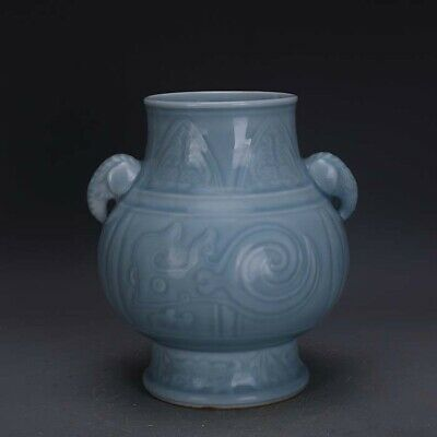 Rare Old Chinese Song official ware Porcelain wash