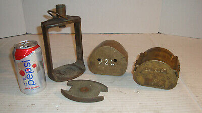 "Vintage Brass Dental Denture Press Mold ""Handler 22C Special"""