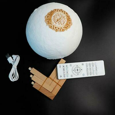 Quran Bluetooth Speakers Remote Control LED Nigts Moon Lamp Quran Speaker new