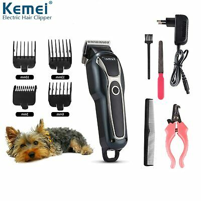 Rechargeable Cat Dog Clipper Cordless Pet Clippers Hair Shaver Grooming Trimmer