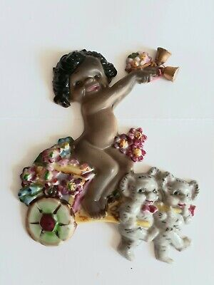 Vintage Brownie Downing Wall Plaque with Koalas