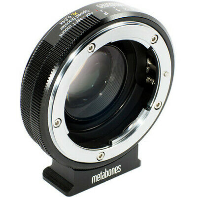 Metabones Speed Booster XL 0.64x Adapter for Nikon G Lens to Select Micro Four T