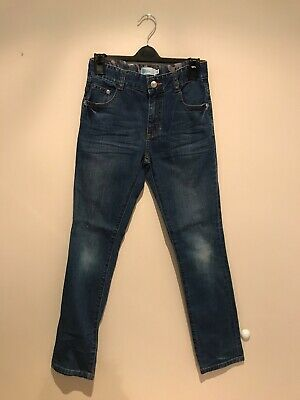 Boys Joules Blue Denim Jeans Age 10