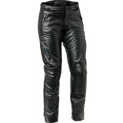 Halvarssons DeDe Leather Trousers Black Motorcycle Trousers RRP £429.00