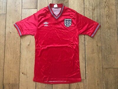 Original England Away Shirt 1984/1985/1986/1987/1988 Vintage Football Retro