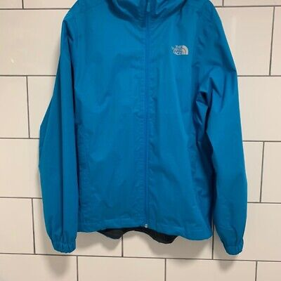 The North Face Mens Dryvent Waterproof Jacket Rain Coat Medium Blue