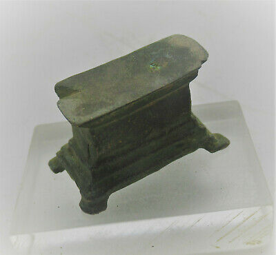 Detector Finds Unresearched Ancient Object Bronze Plinth
