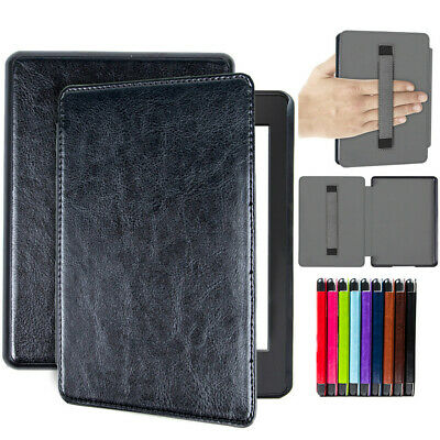 Amazon Kindle Paperwhite 2018 10th Gen Smart Flip Slim PU Leather CASE COVER
