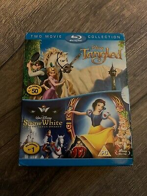 Tangled/Snow White and the Seven Dwarfs Blu-ray (2011) Nathan Greno cert PG 2