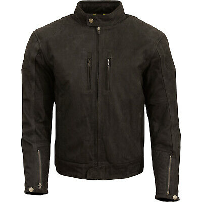 Merlin Stockton Mens Leather Jacket