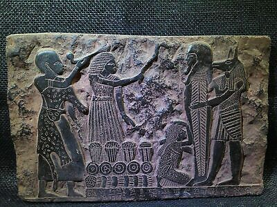 EGYPTIAN ANTIQUE ANTIQUITY Anubis Mouth Ritual Stela Stele 1306-1292 BC