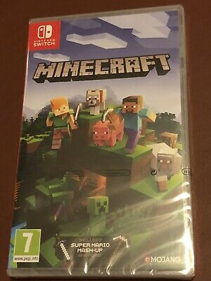 Minecraft Nintendo Switch Edition Game - Brand New - SEALED
