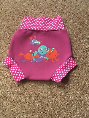 Zoggs Baby Swimming Nappy Pants/swim Sure Nappy Size S 3-6 Months