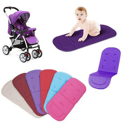 Baby Stroller Seat Liner Pram Cushion Padding Crawl Pushchair Car Seat Cover o