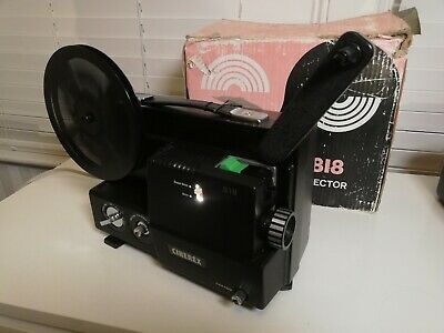 Cinerex 818 Dual Guage Multi Speed Cine Projector Working Boxed