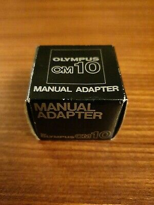 Olympus Om10 Series Manual Adapter Boxed with Instructions - Rare