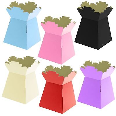 Full Size Transporter Vases - Flower Florist Box Aquapack Living Bouquet Boxes