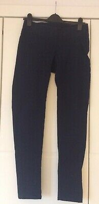Blooming Marvellous Under The Bump Navy Maternity Trousers Size 12. Worn Once.