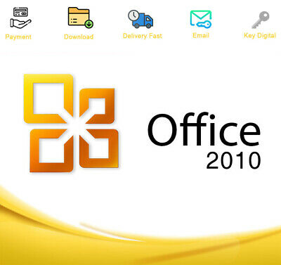 Office Professional Plus 2010 Download Activation For 1 PC Genuine