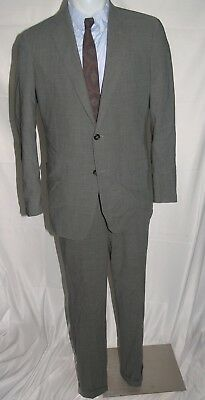Brooks Brothers Fitzgerald Brookscool Full Canvas Two Button Suit 42L